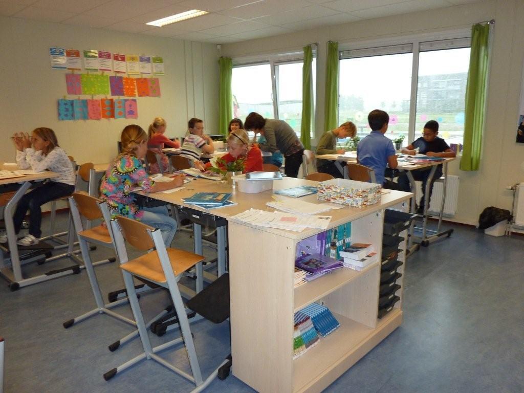 De bovenbouw basisschool aventurijn for Meubilair basisschool